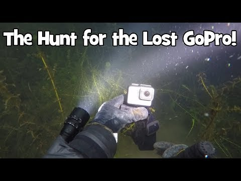 Found GoPro in Lake Washington! - Seattle Diving Services - Underwater Item Recovery Seattle