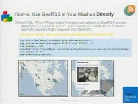 Google Developer Day US - KML Search and Dev. Maps Mashups
