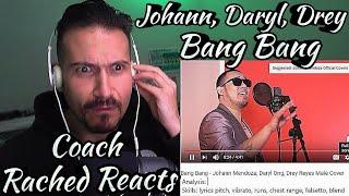 Vocal Coach Reaction + Analysis - Johann, Daryl, Drey - Bang Bang