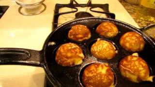 How To Make Lemon Aebleskivers Prepared In A Lodge Cast Iron Pan