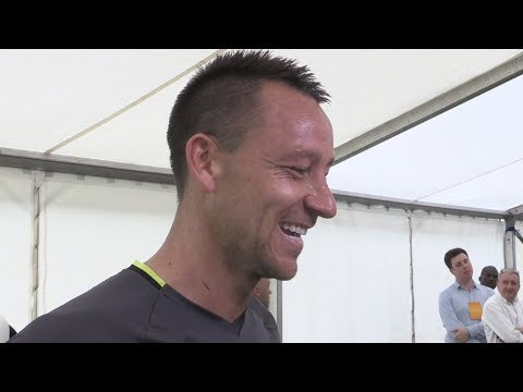FA Cup Final - John Terry Interview - Arsenal v Chelsea
