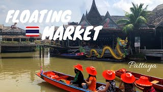 PATTAYA THAILAND DAY 3: Floating Market & Jomtien Beach thumbnail
