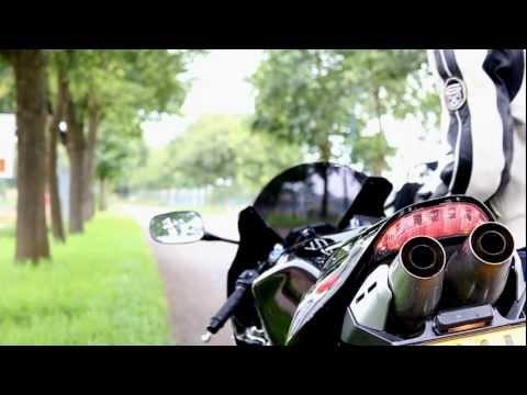 Honda CBR 600 RR | Laser exhaust | engine sound only!