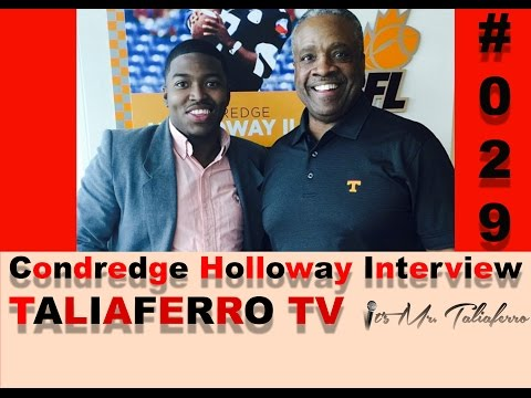 EP29: First Black Quarterback To Ever Play At The University Of Tennessee Condredge Holloway
