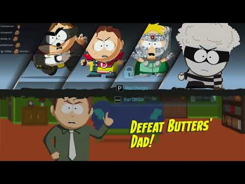 Time To Fight Butters Dad (South Park: The Fractured But Whole Part 6)
