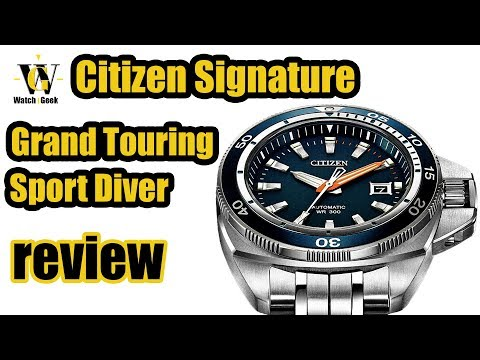 Citizen Signature Grand Touring Sport - Review - NB1031-53L (HR & EN captions)