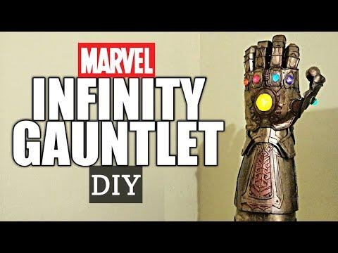 MARVEL-INFINITY GAUNTLET from AVENGER : INFINITY WAR : DIY