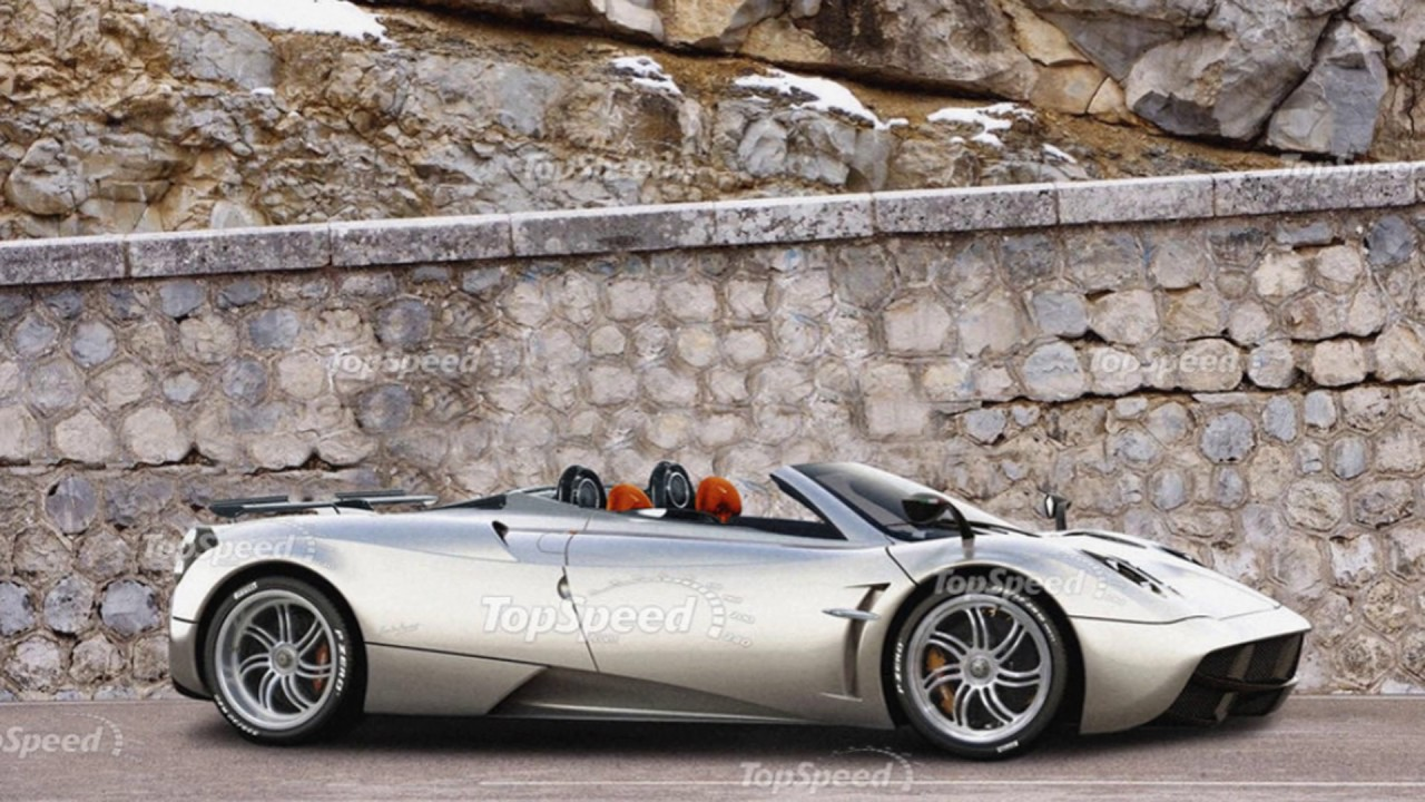 2017 2018 Pagani Huayra Roadster Luxury Sport Review Price