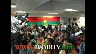 Les Femmes Burkinabe celebrent la Femme à New York:Prestation de Floby