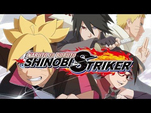 Naruto to Boruto: Shinobi Strike - Testando o Sharigan Com meu personagem [BETA]