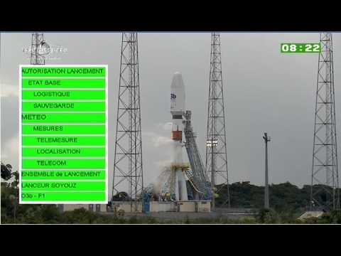 Part 1: Launch Coverage Of A  Soyuz Rocket With Four O3b Spacecraft, From Arianespace