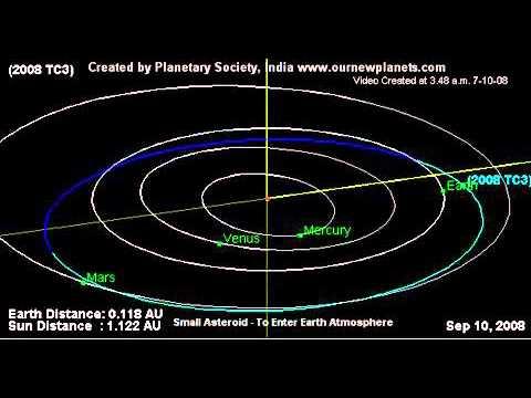 Almahata Sitta | Meteorite crashed into the Earth 's atmosphere - Almahata Sitta2008