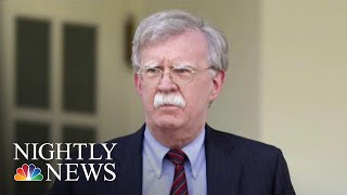 President Donald Trump Says Bolton's Bombshell Claims In New Book Are 'False' | NBC Nightly News