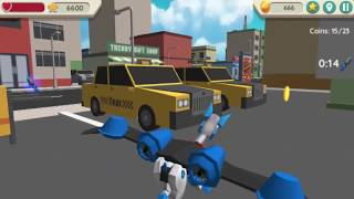 Robot Dog City Simulator Game Level 25-30 Walkthrough