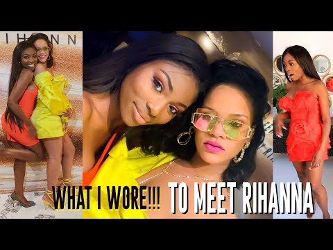 WHAT I WORE TO MEET RIHANNA & YOU WONT BELIEVE WHAT SHE GAVE ME | VLOG 2