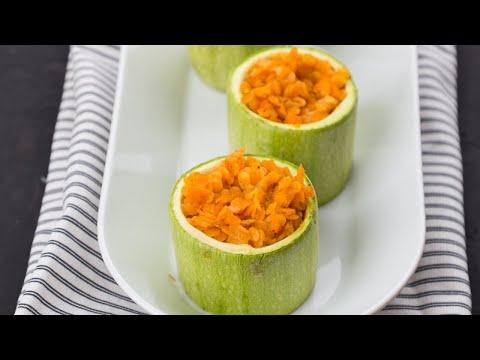 Цукини, фаршированные чечевицей | Рецепты Веган Vegan | Яна Вегана