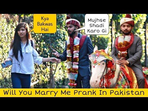Mujhse Shadi Kar Lo Prank | Prank In Pakistan