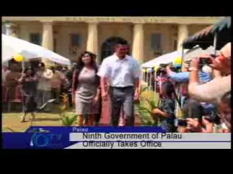 Ninth Constitutional Government Of Palau Installed - VIDEO