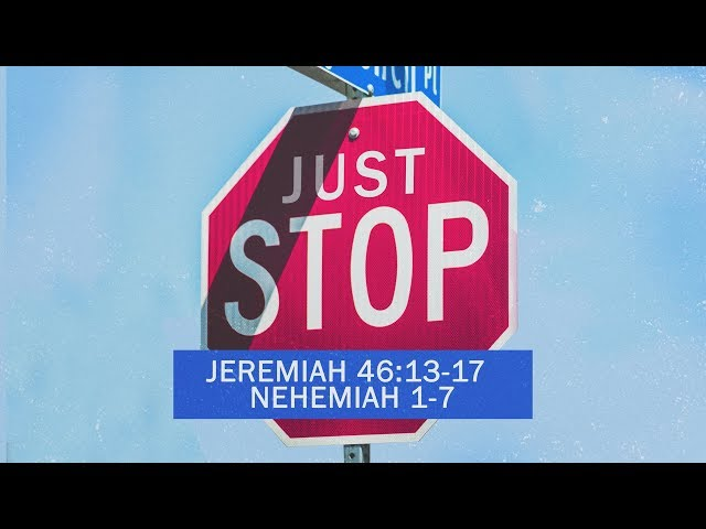 Just Stop Part Four with Pastor Brian Clark