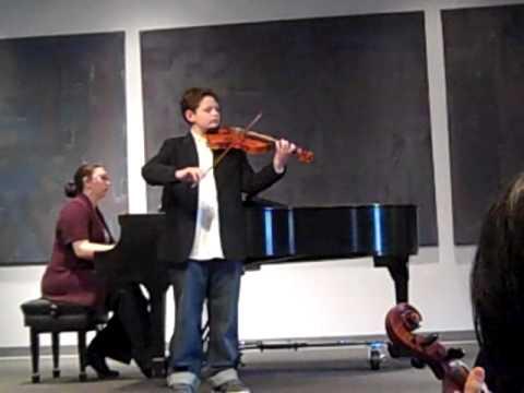 Vivaldi Concerto in G Minor, Allegro, Suzuki Violin