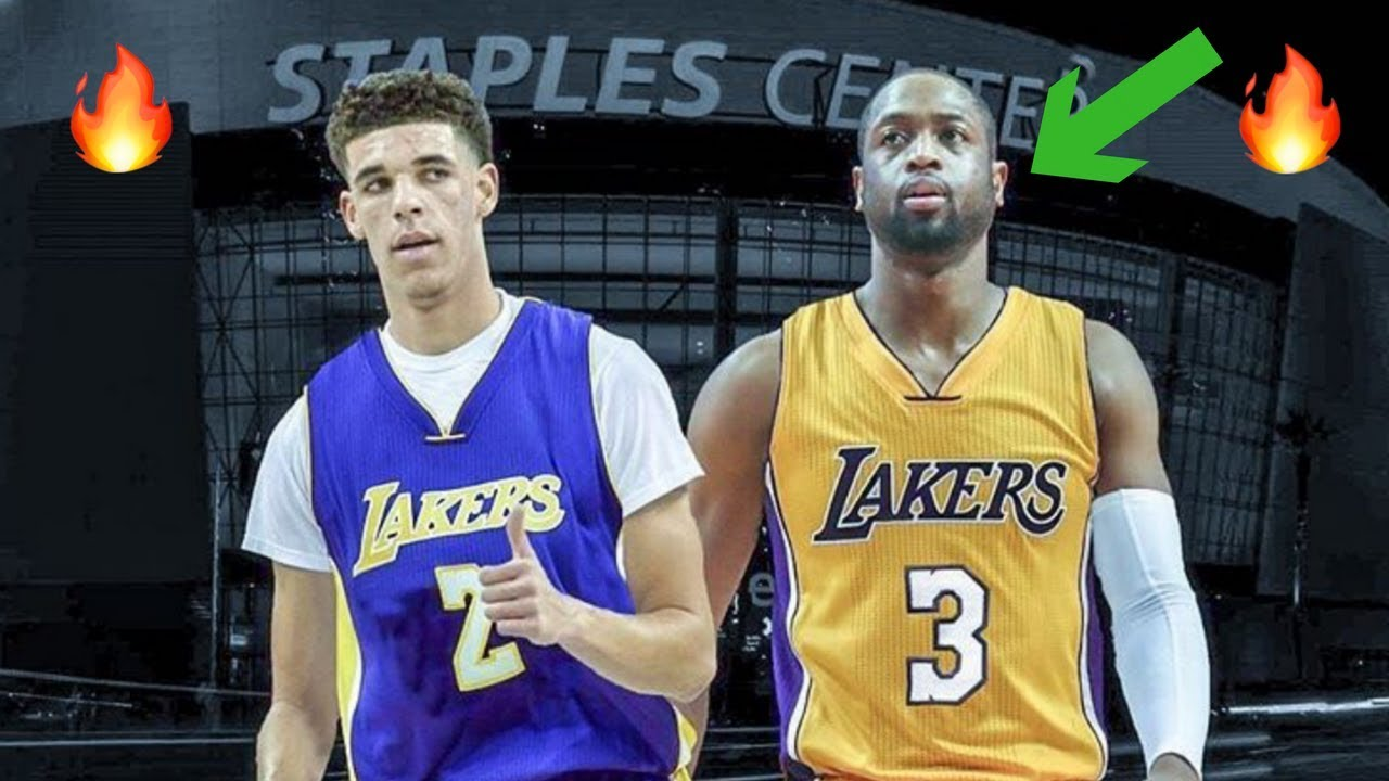 timeless design 2817d 5aea3 How Dwyane Wade Fits With the Los Angeles Lakers - Mentor for Lonzo Ball!?