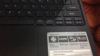 intel celeron N3350 review on Acer Es1-132 review 8 month use