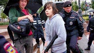 БЕССРОЧКУ СВИНТИЛИ за осквернение памятника Пушкину в Москве