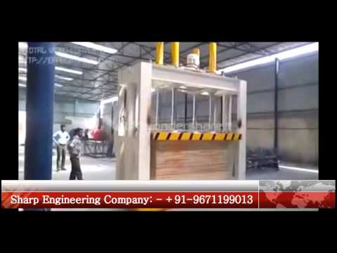 Hydraulic Cold Press Machine For Plywood Wood Lamination