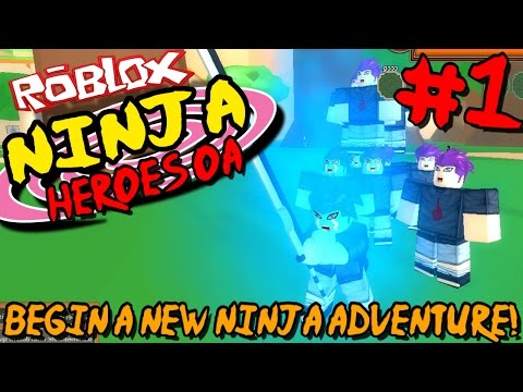 BEGIN A NEW NINJA ADVENTURE! | Roblox: Ninja Heroes OA - Episode 1 from YouTube · Duration:  25 minutes 40 seconds