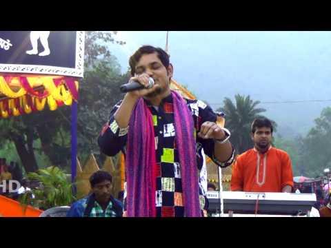 New Santali Revaluation Singer Rathin Kisku Stage Prog...