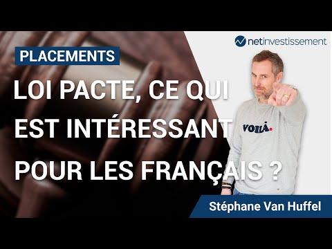 Idées de placements : Loi Pacte, ce qui est intéressant pour les Français ? [Vidéo BFM]