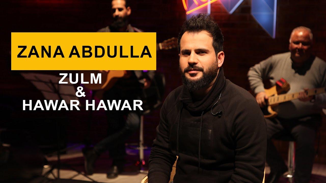 Zana Abdulla - Zulm & Hawar Hawar (Kurdmax Acoustic)