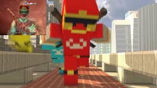 SIÊU NHÂN CUỒNG PHONG - Minecraft Animation | Tez