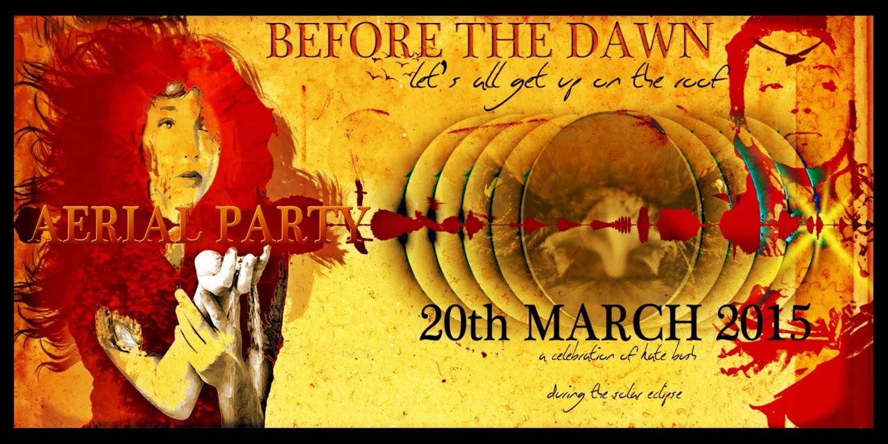 Kate Bush Before The Dawn Aerial Party Trailer Invitation