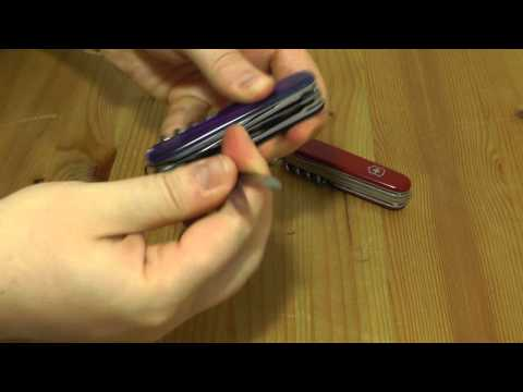 Victorinox Huntsman Blau Transparent | EDC Gear Werkzeug Multitool