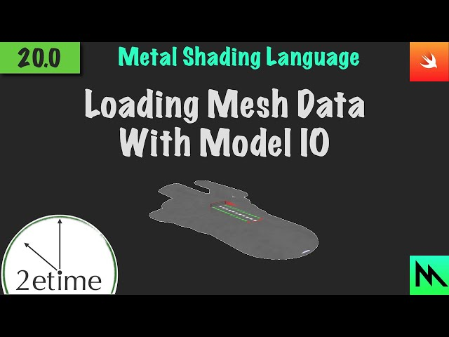 20: Loading .obj Files | Swift Game Engine