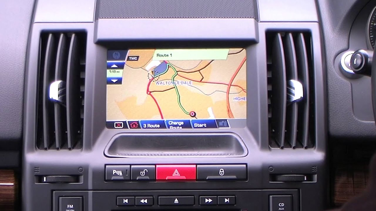 Setting The Sat Nav In A 2010 60 Land Rover Freelander 2 2