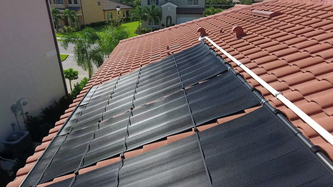 Naples Solar Pool Heating Youtube