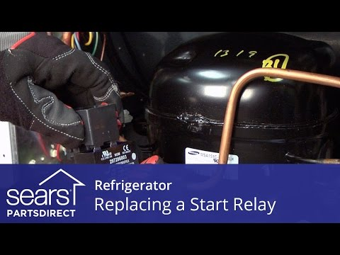 How to Replace a Refrigerator Compressor Start Relay