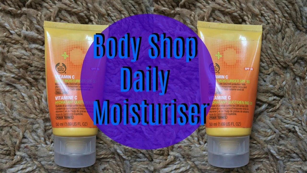 Body Shop Vitamin C Daily Moisturiser SPF 30  bbcffb42f0