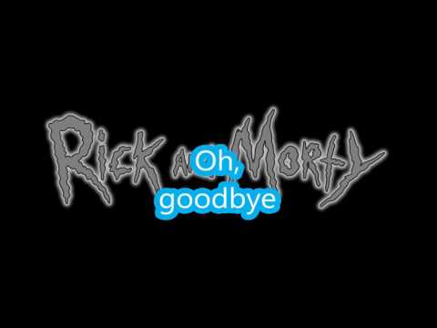Rick and Morty - Goodbye Moonmen (lyrics)