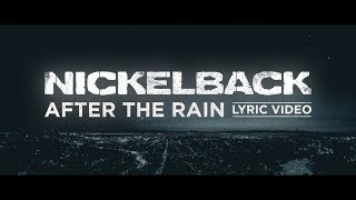 connectYoutube - Nickelback - After The Rain [Lyric Video]