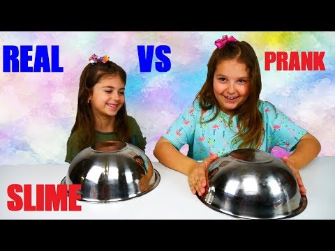 ARIADNI ARTEMI ⭐ REAL SLIME 🆚 PRANK SLIME CHALLENGE !!!