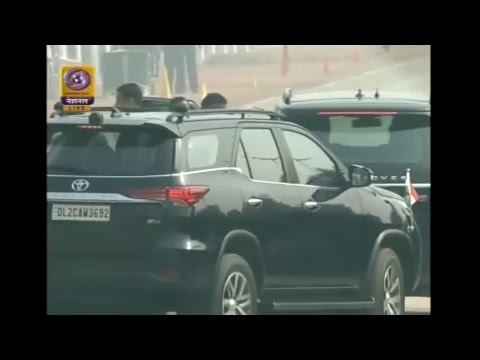 Live: Republic Day Parade 2018 at Rajpath, New Delhi