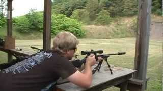 savage model 10 308 with awc thundertrap on a savage model 10 suppressor quiet shooting listen
