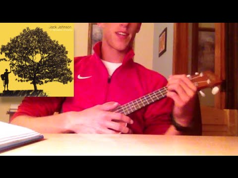 Sitting Waiting Wishing By Jack Johnson Ukulele Tutorial Youtube