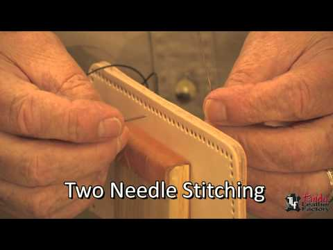 Hand Stitching Leather Techniques