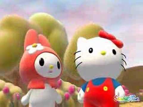 Balloons 3d Live Wallpaper Hello Kitty 3d Youtube