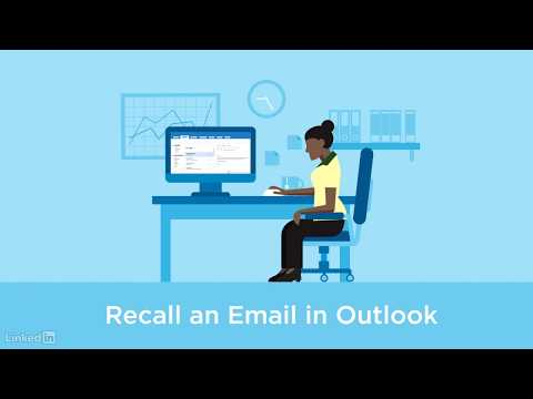 Recalling An Email In Outlook