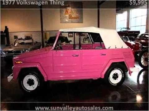 1977 volkswagen thing used cars hailey id youtube. Black Bedroom Furniture Sets. Home Design Ideas